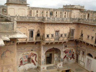 Haveli a Mandawa - Rajasthan India