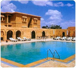 Gli alberghi a Jaisalmer, Rajasthan in India, Hotel Gorbandh Palace