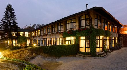 Gli alberghi a Kalimpong, Sikkim in India, Hotel Silver Oaks
