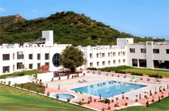 Gli alberghi a Udaipur, Rajasthan in India, Hotel Inder Residency