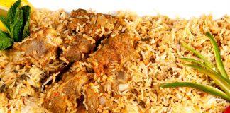 Ricetta Biryani d agnello