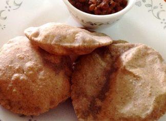 Ricetta Singhare ki Puri