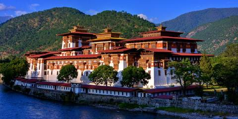 Punakha - Viaggio in India e Bhutan