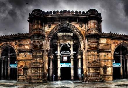 Jama Masjid, Ahmedabad, Gujarat  - Viaggio in Rajasthan e Gujarat