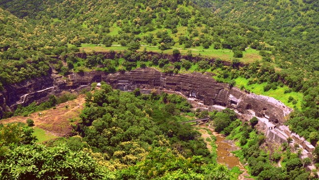 Grotte di Ajanta Ellora, Aurangabad - Viaggio tribale in Gujarat