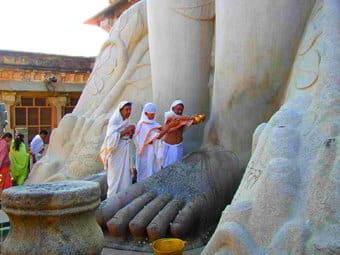 Bahubali Sravanabelgola, viaggio Karnataka, Sud India