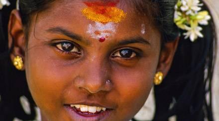 Bambina sud India - Offerta viaggio Sud India