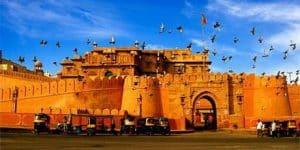 Junagarh Fort, Bikaner - Viaggio di gruppo per la Festa dei colori Holi in India