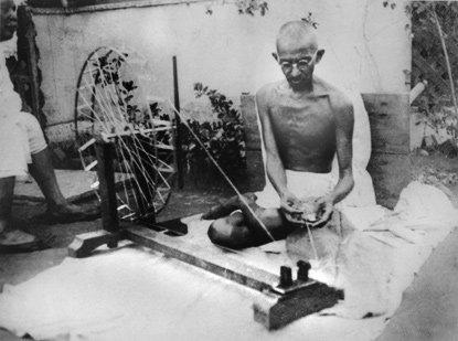 Charkha di Gandhi, Cottone - Viaggio sulle orme di Gandhi