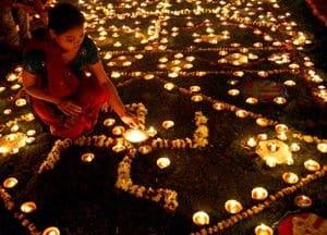 Festeggiamento di Diwali, Jaipur - Viaggio in India per la Festa delle luci - Diwali
