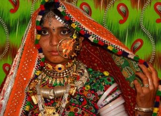 Viaggio tribale in Gujarat, Donna tribale Meghwal - Gujarat