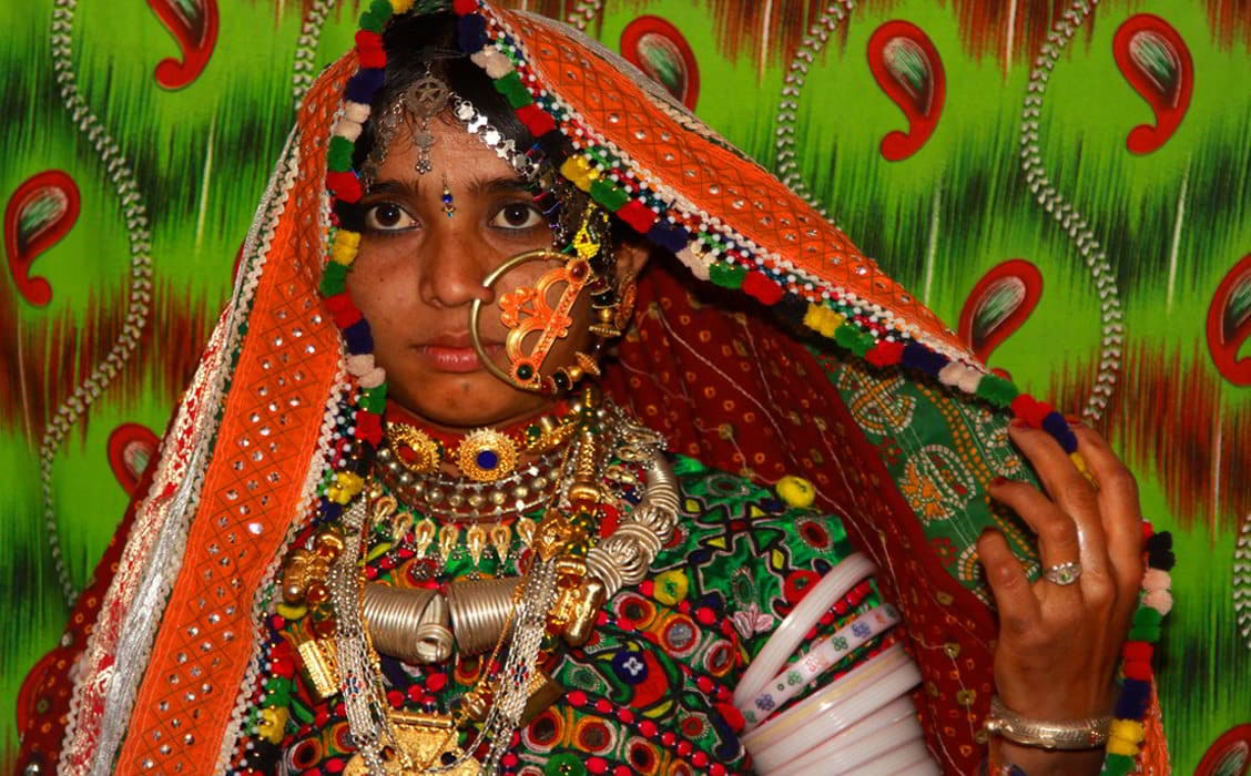 Donna tribale, Gujarat
