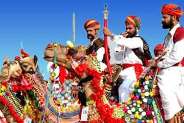 Viaggio per la fiera di Pushkar
