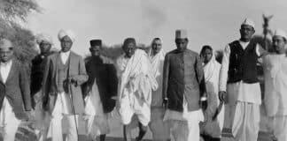 Gandhi marcia del sale