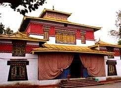 Gangtok monastero - Viaggio in Sikkim e Bhutan