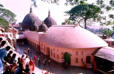 Tempio Dea Kamakhya di Guwahati - India