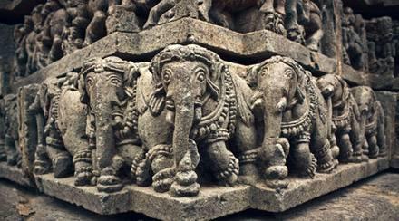 Halebid - Karnataka, viaggio sud India