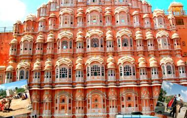 Informazioni Hawa Mahal, Jaipur, Rajasthan - India