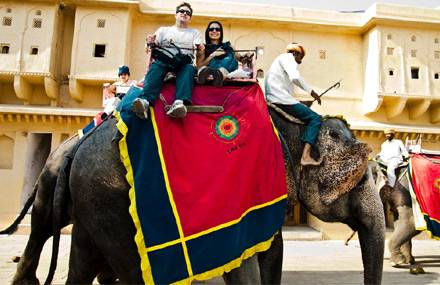 Jaipur, Viaggio di nozze in India