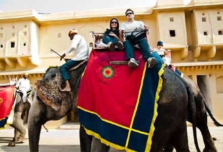 Forte Amber, Jaipur - Viaggio di nozze in India