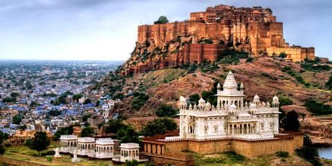 Jodhpur, la città blu - Viaggio di nozze a bordo del treno di lusso in India