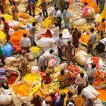 Mercato dei fiori, Kolkata – India
