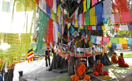 Lumbini, viaggio in Nepal