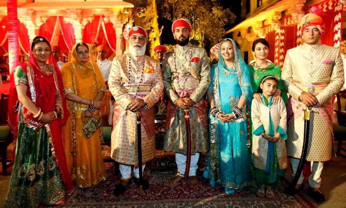 Maharaja di Udaipur Rajasthan