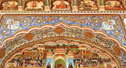 Haveli di Mandawa, Viaggio di nozze in India
