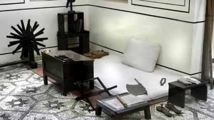Mani bhavan camera di Gandhi, Mumbai - Viaggio sulle orme di Gandhi