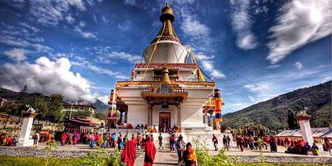 Thimpu National Memorial - Viaggio Punakha Festival, Bhutan