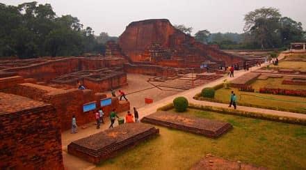 Università di Nalanda, India - Viaggio per la festa Buddha Purnima