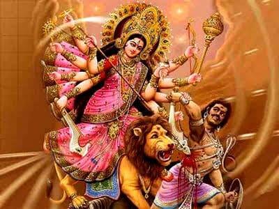 """Dea Durga - Religioni Indiane """"Hinduismo"""""""