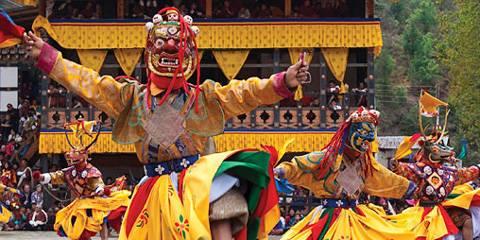 Paro Tschechu - Viaggio per Paro Festival in Bhutan