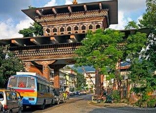 Phuntsholing - Viaggio in Sikkim e Bhutan