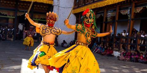 Punakha Tshechu - Viaggio Punakha Festival, Bhutan