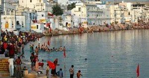 Lago di Pushkar - Viaggio di nozze in India
