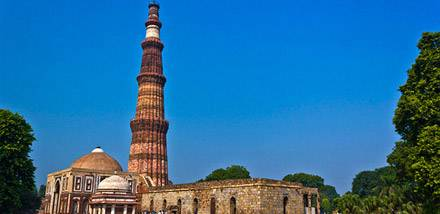 Qutub Minar, Delhi - Viaggio India e Nepal