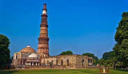 Qutub Minar - Delhi, India, Viaggio fiera di Pushkar