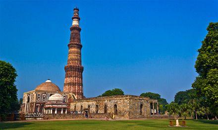Qutub Minar, Delhi - Viaggio di nozze a bordo del treno di lusso in India