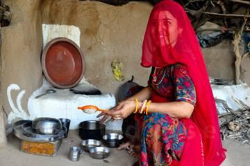 Donna rurale - Viaggio Rajasthan Rurale,