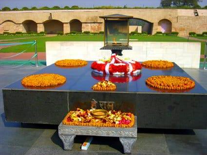 Rajghat, Delhi - Viaggio sulle orme di Gandhi