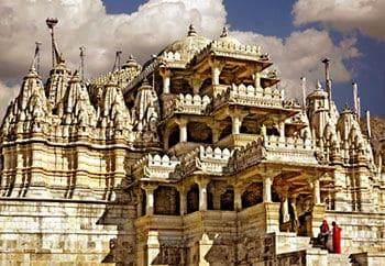il tempio di Ranakpur, Rajasthan - Viaggio nord India e Nepal