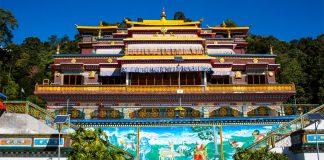 Viaggio in Sikkim, Rumtek Monastero