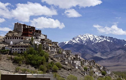 Monastero di Spitok, Viaggio in Punjab e Ladakh