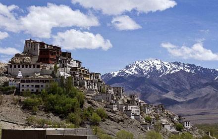 Monastero di Spitok, Viaggio per la Festa Hemis a Leh