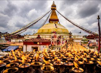Swayambhunath, viaggio in Nepal