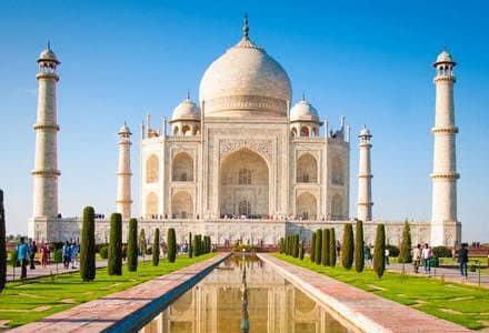 Taj Mahal, Agra - Viaggio di nozze in India