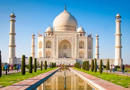 Taj Mahal - Viaggio incantevole nord India