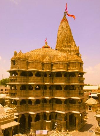 Tempio Dwarkadhish Dwarka, Gujarat - Viaggio templi e palazzi di Gujarat